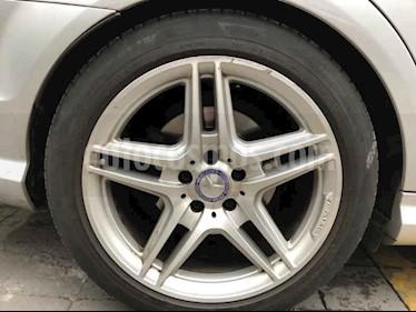 Mercedes Benz Clase C 250 CGI Sport Aut usado (2014) color Plata precio $295,000