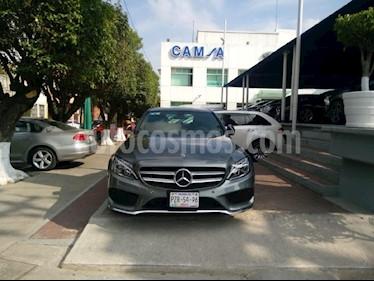 Foto venta Auto usado Mercedes Benz Clase C 250 CGI Sport Aut (2018) color Gris precio $574,900