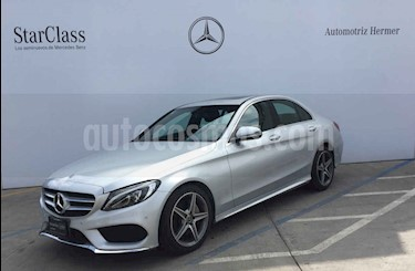 Foto venta Auto usado Mercedes Benz Clase C 250 CGI Sport Aut (2017) color Plata precio $449,900