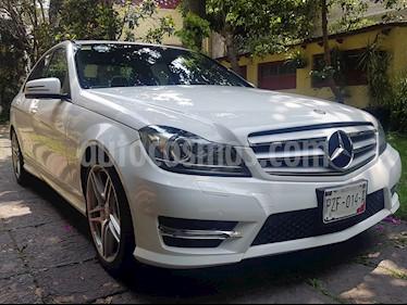 Mercedes Benz Clase C 250 CGI Sport Aut usado (2013) color Blanco Diamante precio $264,900