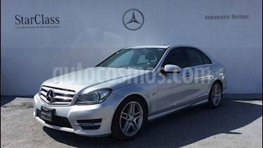 Mercedes Benz Clase C 250 CGI Sport Aut usado (2012) color Plata precio $269,900