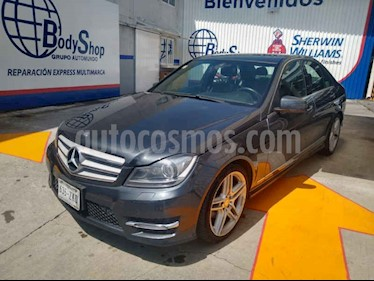 Foto venta Auto usado Mercedes Benz Clase C 250 CGI Sport Aut (2014) color Azul precio $289,000
