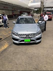 Mercedes Benz Clase C 250 CGI Sport Aut usado (2018) color Azul precio $500,000