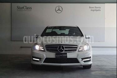 Mercedes Benz Clase C 250 CGI Sport Aut usado (2013) color Blanco precio $305,000