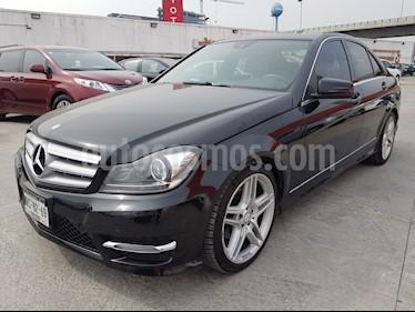 Foto venta Auto Seminuevo Mercedes Benz Clase C 250 CGI Sport Aut (2014) color Negro Magnetita precio $329,000
