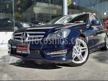 Foto venta Auto usado Mercedes Benz Clase C 250 CGI Sport Aut (2014) color Azul precio $275,000