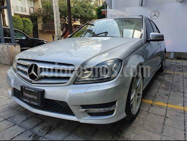 Mercedes Benz Clase C 250 CGI Sport Aut usado (2013) color Gris precio $265,000