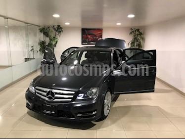 Mercedes Benz Clase C 250 CGI Sport Aut usado (2013) color Gris precio $229,500