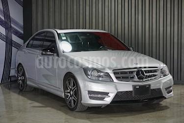Mercedes Benz Clase C 250 CGI Sport Aut usado (2014) color Plata precio $305,000
