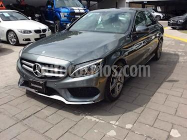 Mercedes Benz Clase C 250 CGI Sport Aut usado (2018) color Gris precio $550,000