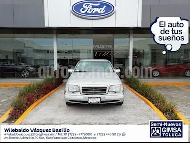 Foto venta Auto Seminuevo Mercedes Benz Clase C 280 Elegance Aut (1995) color Plata precio $185,000
