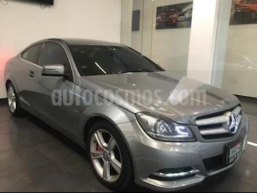 Mercedes Benz Clase C 2p C 250 Coupe L4/1.8 Aut usado (2012) color Plata precio $255,500