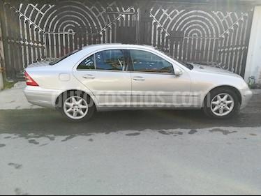 Foto Mercedes Benz Clase C 320 Elegance V6 Aut usado (2001) color Gris Plata  precio $70,000