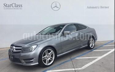 Foto venta Auto usado Mercedes Benz Clase C 350 CGI Coupe Aut (2014) color Gris precio $329,900