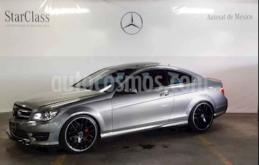 Mercedes Benz Clase C 350 CGI Coupe Aut usado (2014) color Gris precio $419,000