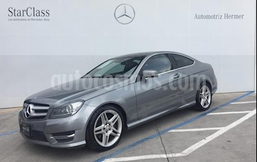 Foto venta Auto usado Mercedes Benz Clase C 350 CGI Coupe Aut (2014) color Gris precio $379,900