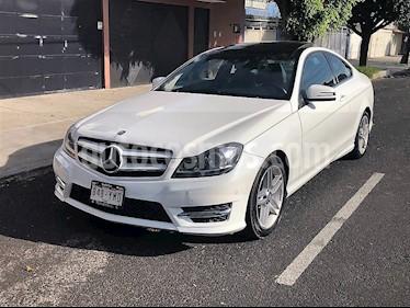 Foto venta Auto usado Mercedes Benz Clase C 350 CGI Coupe Aut (2013) color Blanco precio $249,900