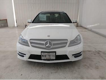 Foto venta Auto usado Mercedes Benz Clase C 350 CGI Coupe Aut (2014) color Blanco precio $349,000