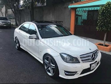 Mercedes Benz Clase C 350 CGI Sport usado (2012) color Blanco precio $205,000