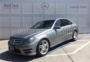 Foto venta Auto usado Mercedes Benz Clase C 350 CGI Sport (2014) color Gris precio $411,900