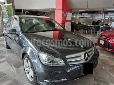Foto Mercedes Benz Clase C 4p C 200 Exclusive Plus L4/1.8/T Aut usado (2014) color Negro precio $219,000