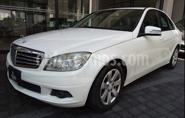 Mercedes Benz Clase C 4p C 200 Kompressor Aut L4 2.0L 181 CP usado (2010) color Blanco precio $139,000