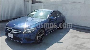foto Mercedes Benz Clase C 4p C 200 Sport L4/1.5/T Aut usado (2019) color Azul precio $599,000