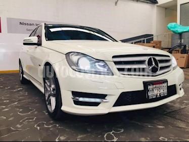Foto venta Auto usado Mercedes Benz Clase C 4p C 250 Sport L4/1.8 Aut (2012) color Blanco precio $249,900