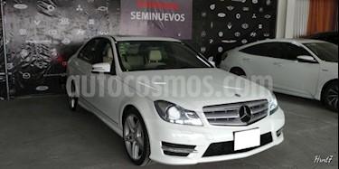 Foto venta Auto usado Mercedes Benz Clase C 4p C 250 Sport L4/1.8/T Aut (2014) color Blanco precio $287,000
