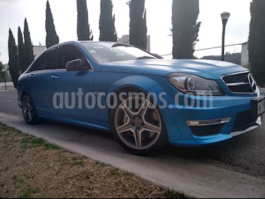 Mercedes Benz Clase C 63 AMG Coupe usado (2012) color Blanco precio $495,000