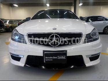 Foto venta Auto usado Mercedes Benz Clase C 63 AMG Coupe (2013) color Blanco precio $575,000