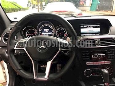 Foto venta Auto usado Mercedes Benz Clase C 63 AMG Coupe (2013) color Blanco precio $525,000