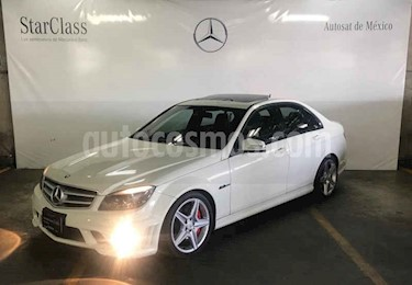 Foto venta Auto usado Mercedes Benz Clase C 63 AMG (2010) color Blanco precio $349,000