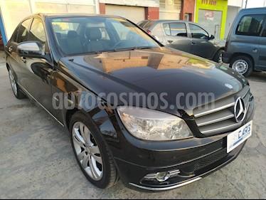 Mercedes Clase C C200 K usado (2008) color Negro precio u$s9.500