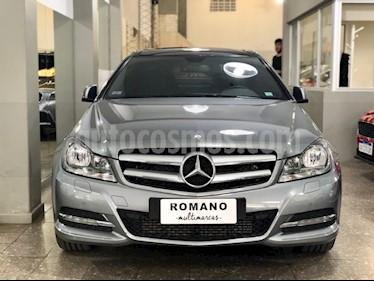 Mercedes Benz Clase C C250 Coupe Aut Sport usado (2015) color Gris Tenorita precio u$s33.000