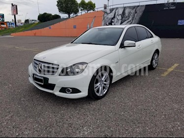 Mercedes Benz Clase C C200 CGI Blue Efficiency 1.8L City usado (2012) color Blanco precio $1.200.000