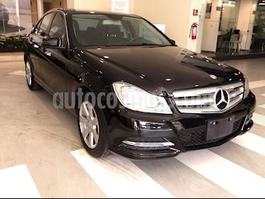 Foto venta Auto usado Mercedes Benz Clase C C-CLASS 1.6 C 180 CGI AT 4P (2014) color Negro precio $255,000