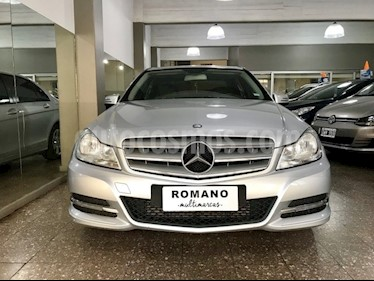 Foto venta Auto usado Mercedes Benz Clase C C200 CGI Blue Efficiency 1.8L City (2013) color Gris Tenorita precio $810.000