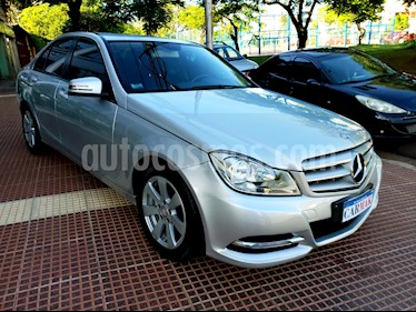 Foto venta Auto usado Mercedes Benz Clase C C200 CGI Blue Efficiency 1.8L City (2012) color Gris precio $739.990