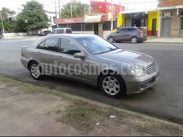 Foto venta Auto usado Mercedes Benz Clase C C200 K Elegance Aut (2005) color Beige