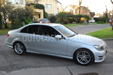 Mercedes Benz Clase C C250 CGI Blue Efficiency 1.8L Sport Aut usado (2013) color Gris precio u$s23.000