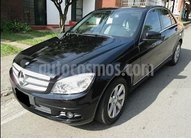 Mercedes Benz Clase C 180 Aut usado (2009) color Negro precio $28.000.000