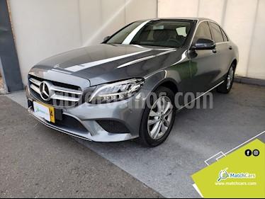 Mercedes Benz Clase C 180 Aut usado (2020) color Gris Tenorita precio $120.990.000