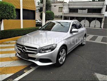 Mercedes Benz Clase C 180 CGI Aut NAVI usado (2017) color Plata precio $299,900