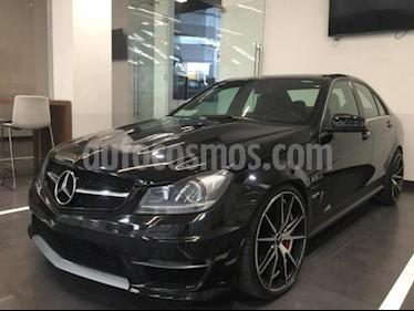 Mercedes Benz Clase C 4p C 63 AMG V8/6.3 Aut usado (2014) color Negro precio $664,900