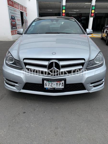 Mercedes Benz Clase C 350 CGI Coupe Aut usado (2013) color Plata Iridio precio $295,000