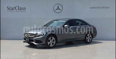 Mercedes Benz Clase C 4p C 200 Exclusive L4/2.0/T Aut usado (2018) color Gris precio $429,900
