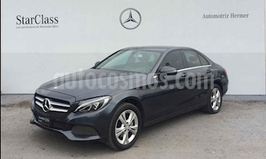 Mercedes Benz Clase C 200 Exclusive Aut usado (2016) color Gris precio $339,900