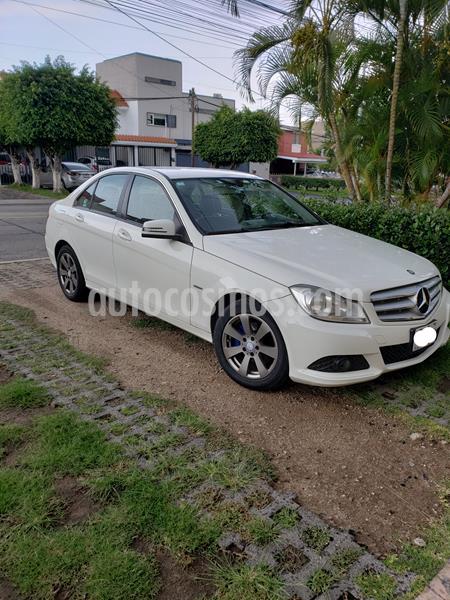 Mercedes Benz Clase C 180 CGI usado (2012) color Blanco precio $185,000