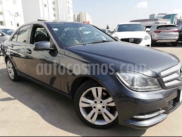 foto Mercedes Benz Clase C 200 CGI Exclusive Plus Aut usado (2014) color Gris precio $245,000
